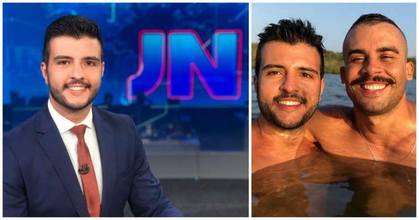 Primeiro jornalista assumidamente gay a apresentar JN