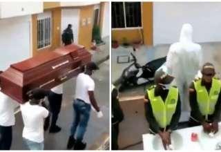 policiais colombia meme