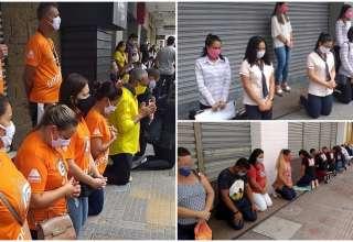 funcionários paraíba protesto