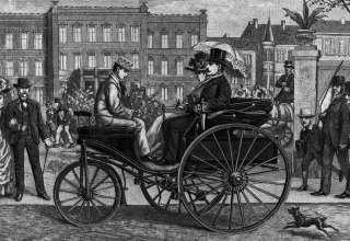 Patent-Motorwagen foi construído por Karl Benz para homenagear sua mulher