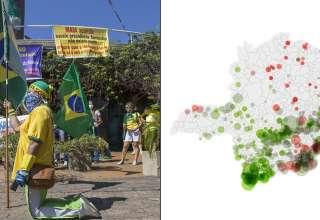 cidades bolsonaristas mais afetadas covid-19