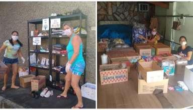 Lojinha Solidária BH doa alimentos e roupas para os necessitados