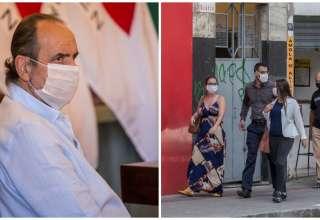 Máscara é utilizada para evitar contaminação pelo novo coronavírus
