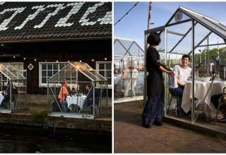 restaurante reabre cabines individuais