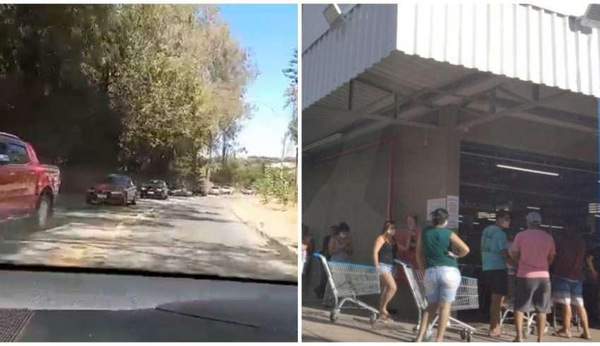Mesmo na pandemia, turistas foram para Serra do Cipó
