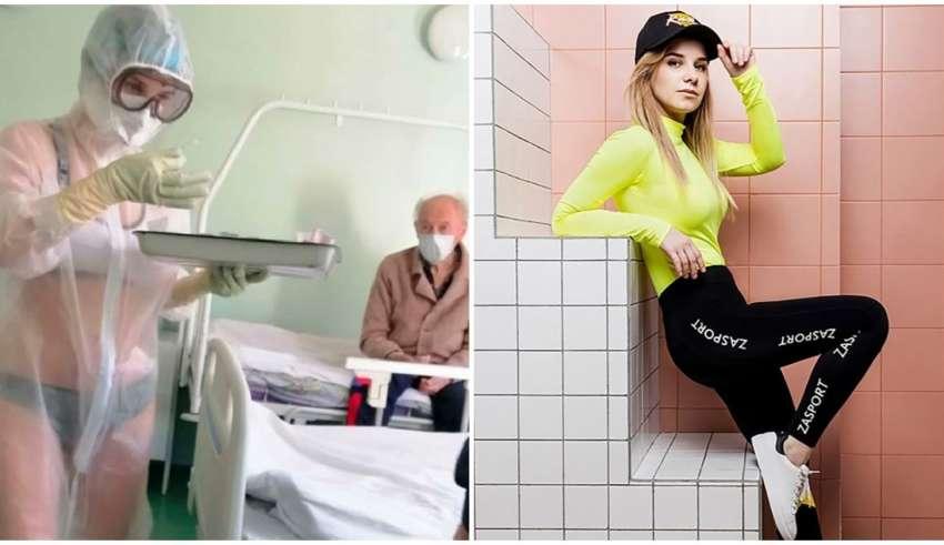 enfermeira lingerie modelo