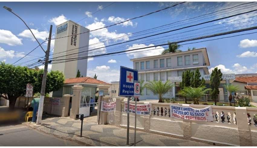 Adolescente foi levada ao Hospital Regional