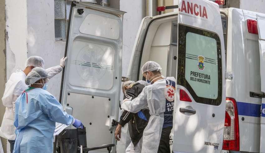 ambulancia minas bh coronavírus