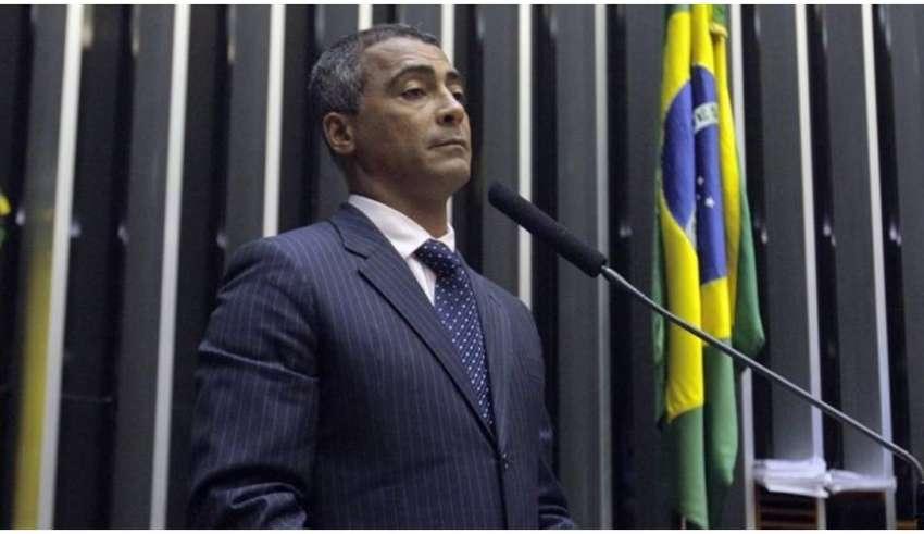 romário atuando como parlamentar