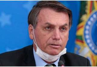 Bolsonaro sem máscara