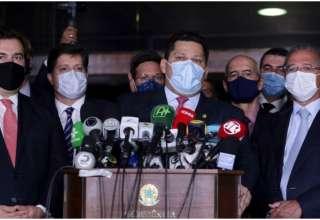 Guedes e outros membros do legislativo