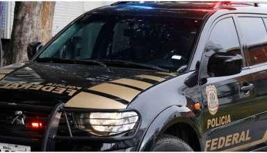 carro da polícia federal usado em operações