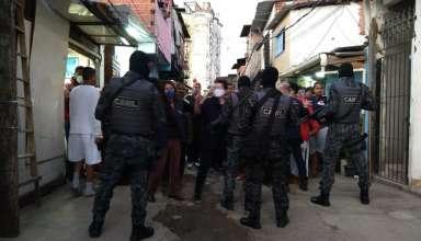 pm ação favela moinho