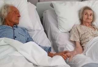 foto casal despedida por câncer terminal
