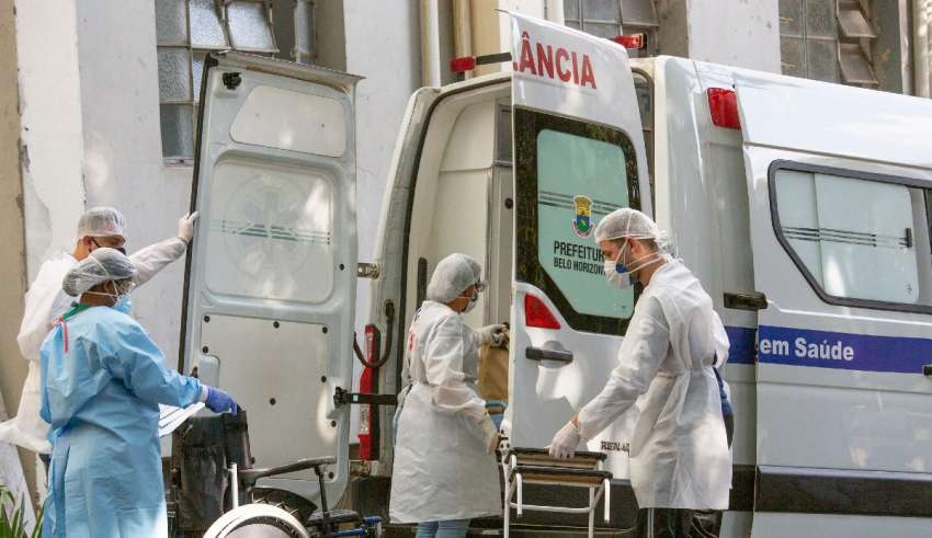 ambulância hospital profissionais saúde bh