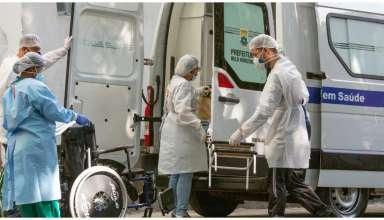 ambulância hospital covid