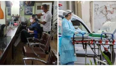 comércio salão de beleza ambulância enfermeira maca