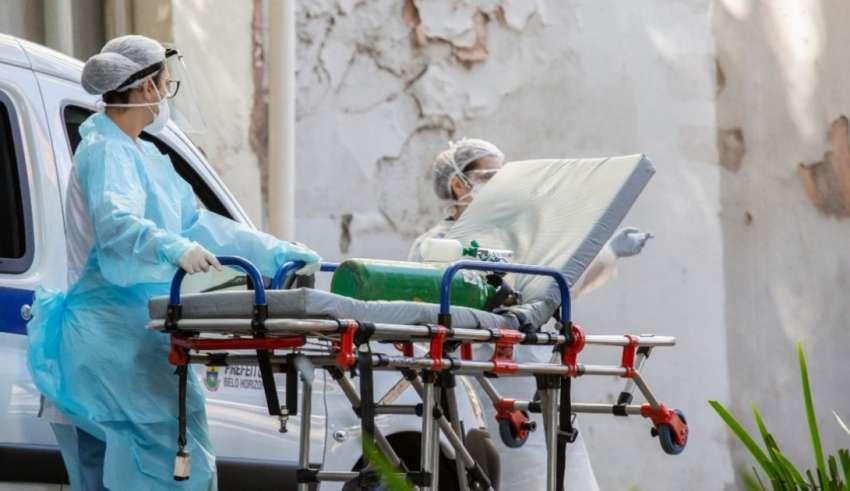coronavirus minas área hospitalar