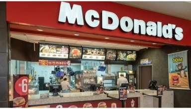 loja mcdonalds em shopping