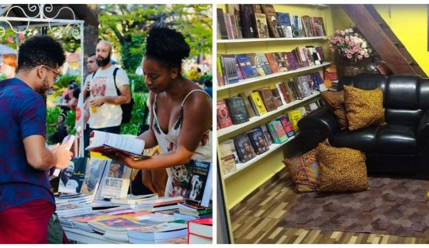 feira livros livraria bantu
