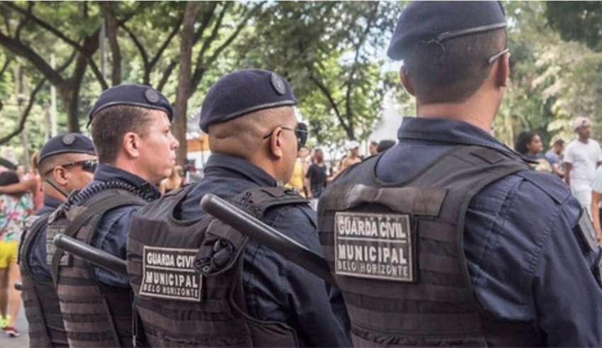 Agentes da Guarda Civil Municipal de Belo Horizontes
