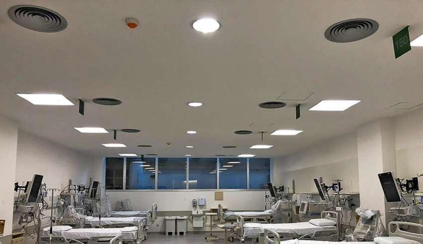 Hospital de Clínicas de Porto Alegre (HCPA) leitos CTI