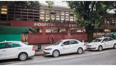 fachada hospital joão XXIII