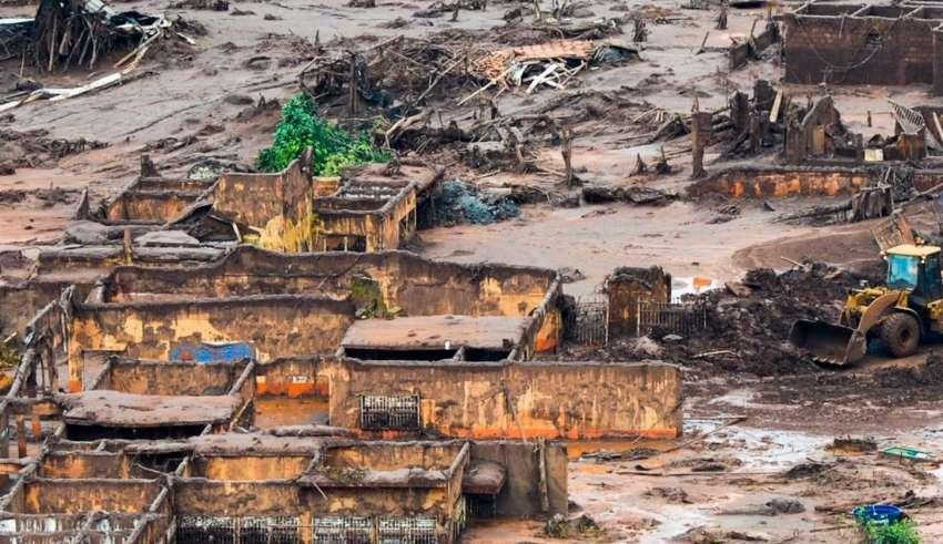Rompimento da barragem do Fundão, em Mariana, Minas Gerais