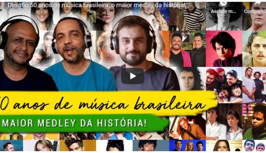 medley 50 anos musica brasileira
