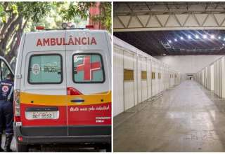 ambulancia hospital de campanha