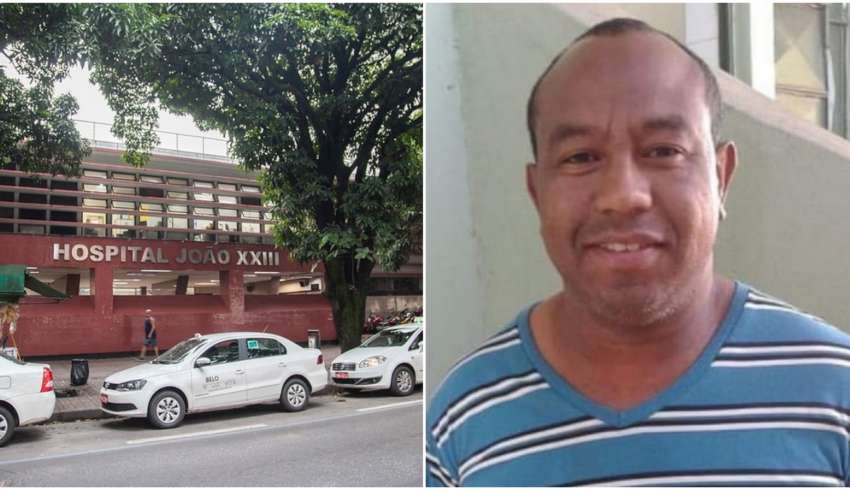 Hospital João XXII e técnico vítima da Covid-19 em BH