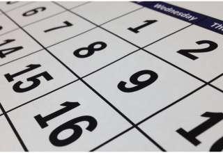 calendário feriados