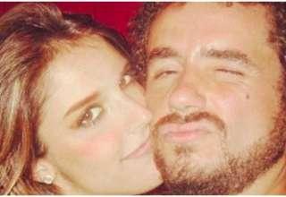 Rafa Brites e Felipe Andreoli são casados