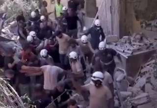 Resgate nos escombros de Beirute