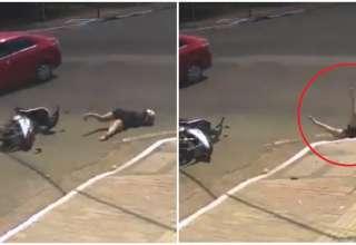 vídeo acidente bueiro