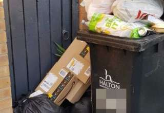 lixo amazon encomendas