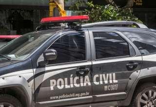 Viatura da Polícia Civil de Minas Gerais