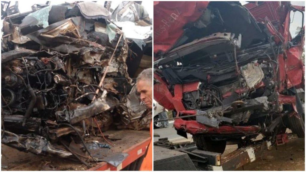 12 mortos acidente van caminhão patos de minas