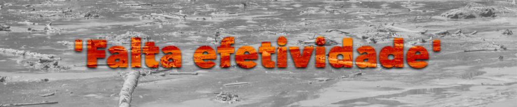 'Falta efetividade' especial brumadinho