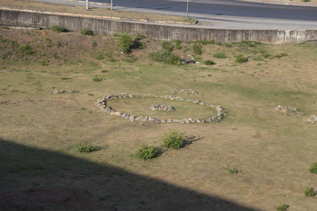 círculo de pedras pampulha