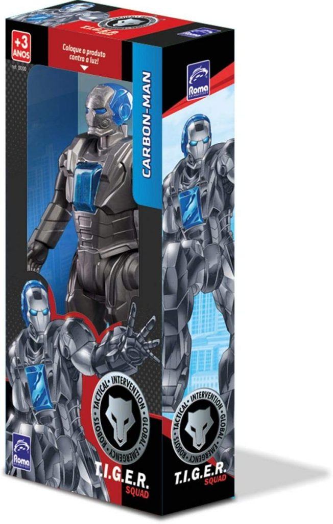 tiger squad carbon man melhores brinquedos 2020