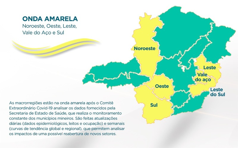 Mapa Onda Amarela