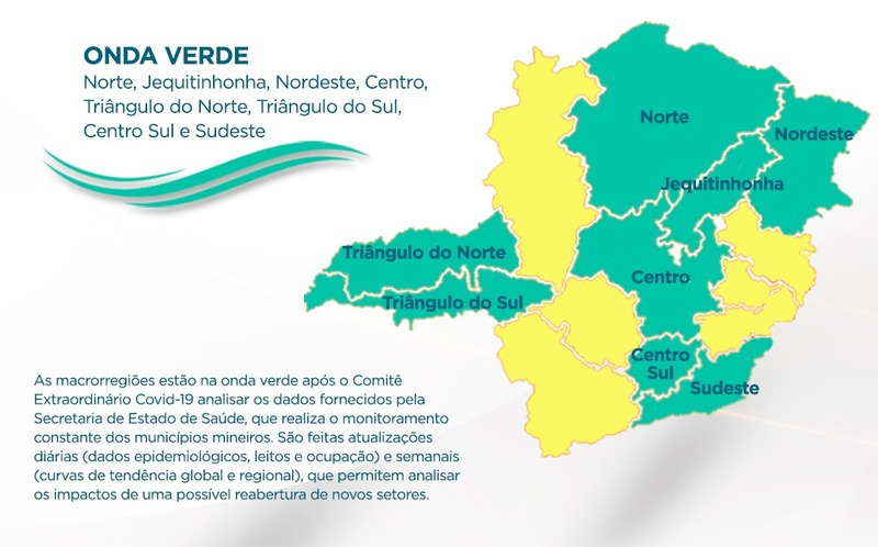Mapa Onda Verde
