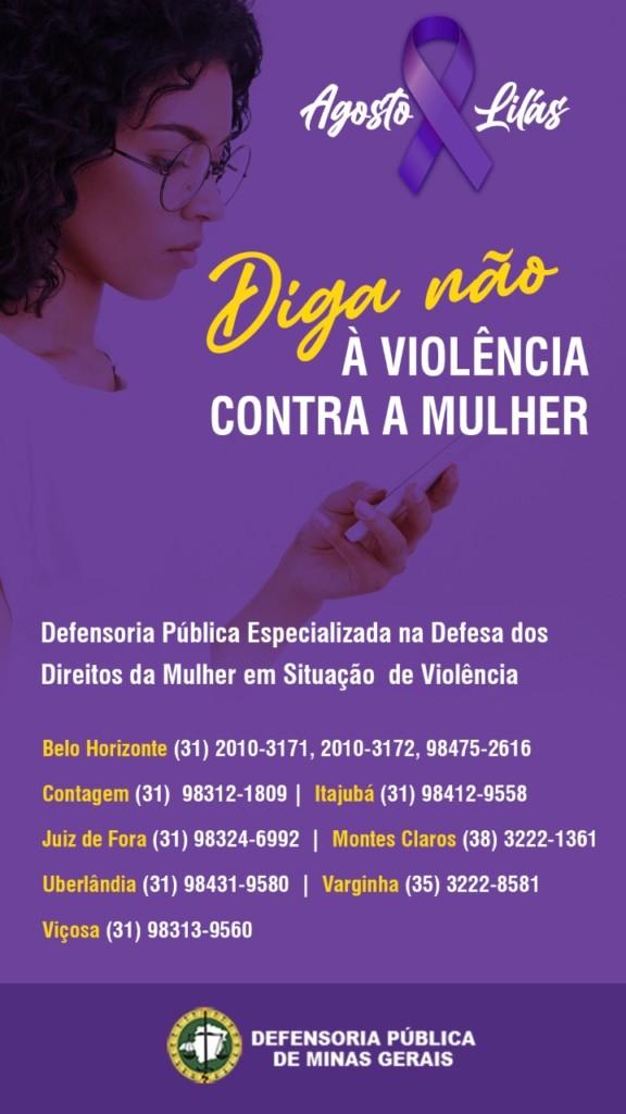 Números para denúncia de violência contra a mulher