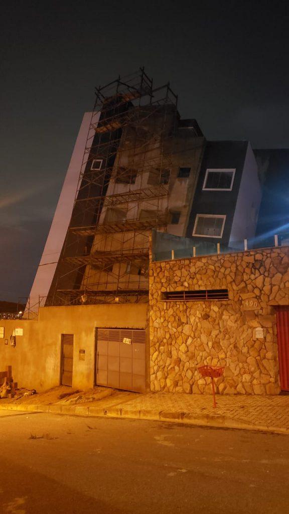 prédio risco desabamento betim