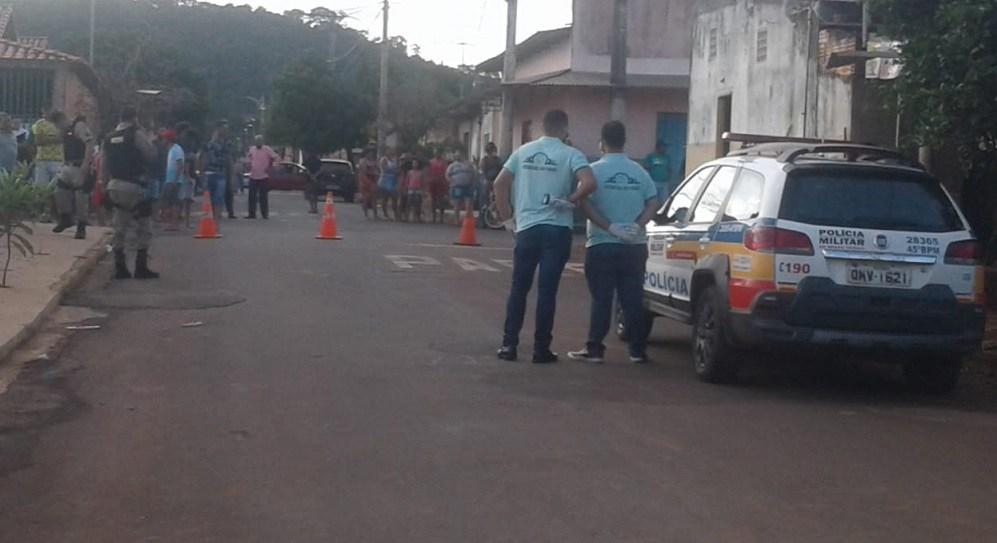 polícia militar trabalho assassinato vazante