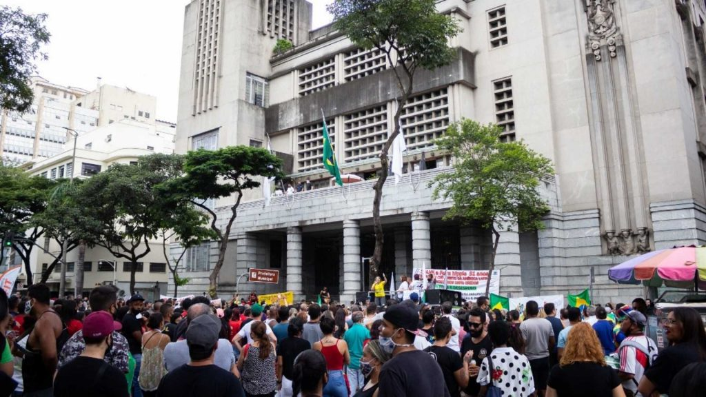 manifestação PBH