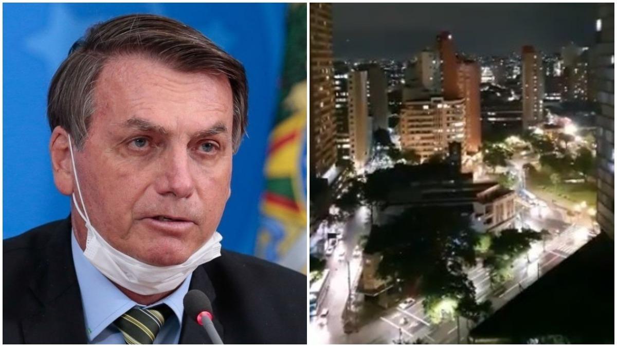 BH registra mais de 10 minutos de panelaço contra Bolsonaro