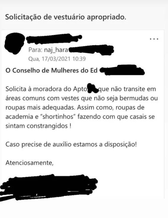 Email condomínio