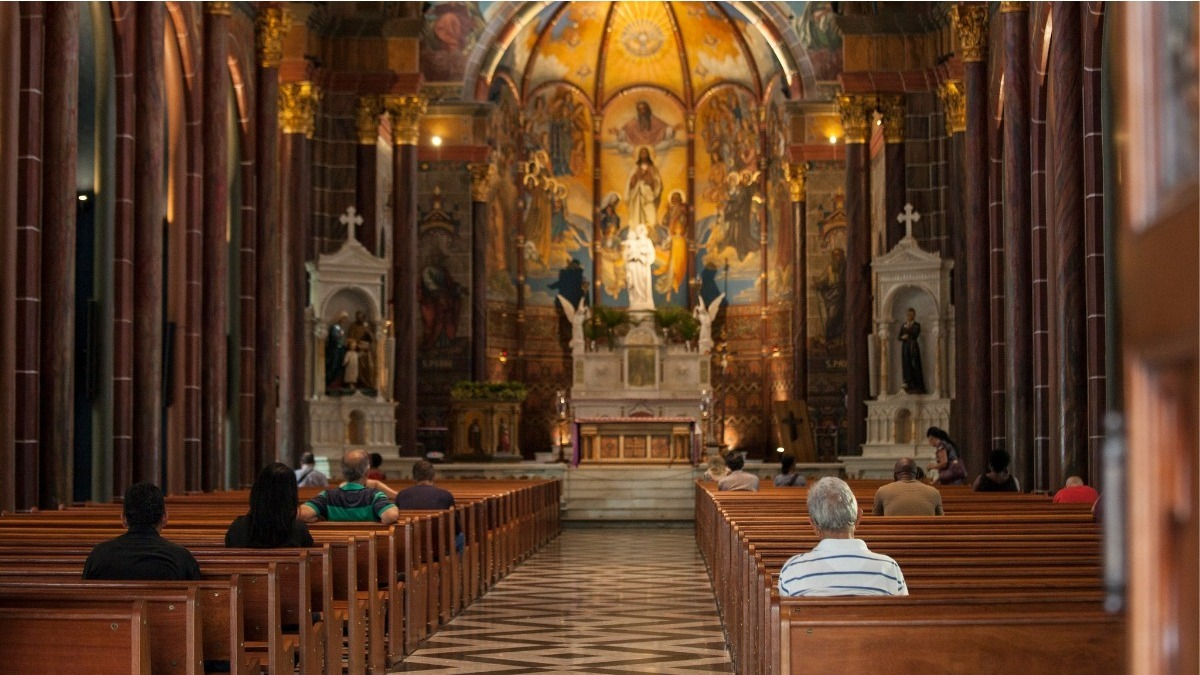 Igrejas abertas durante pandemia